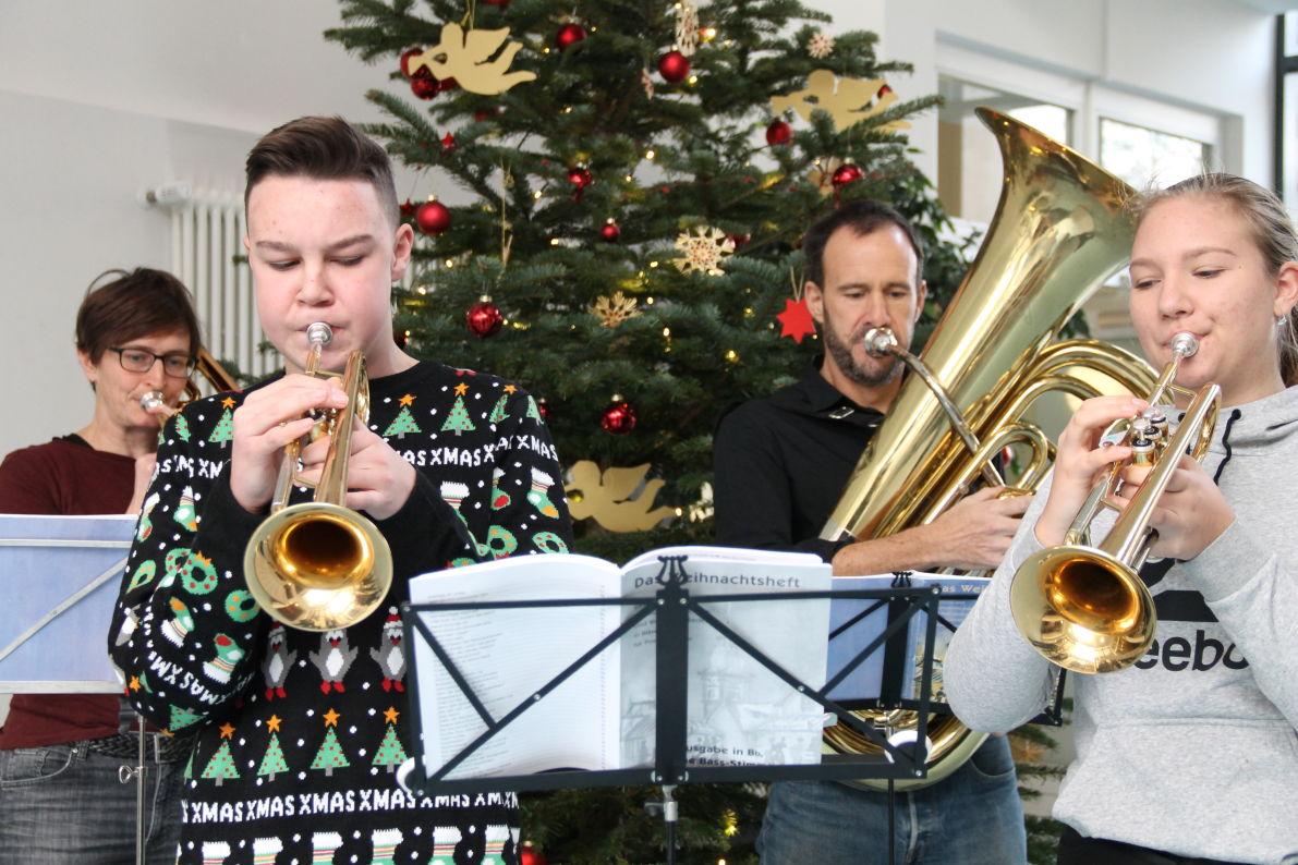 Weihnachtsstimmung an der Realschule Ravensburg