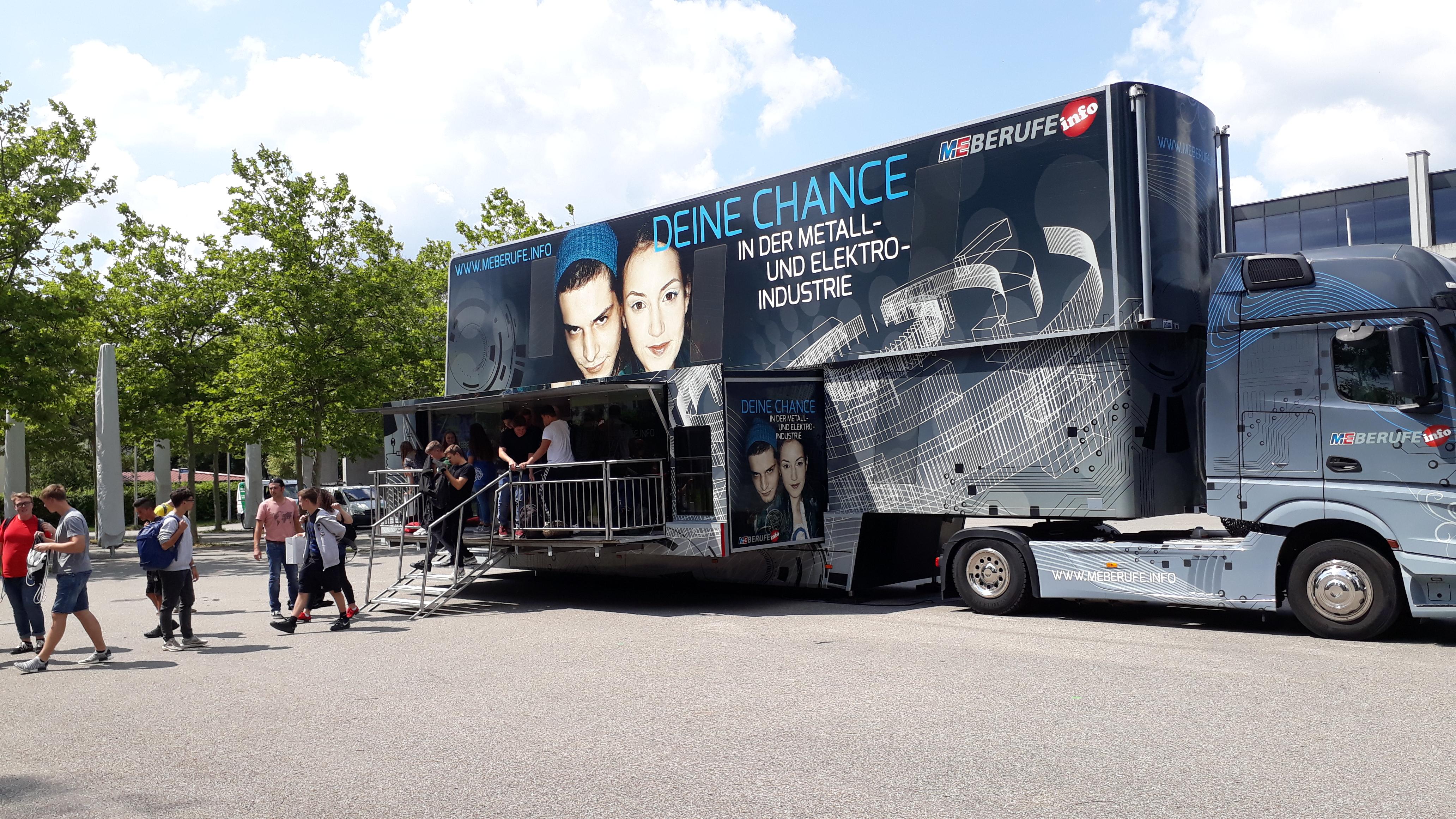 M+E Truck zu Besuch