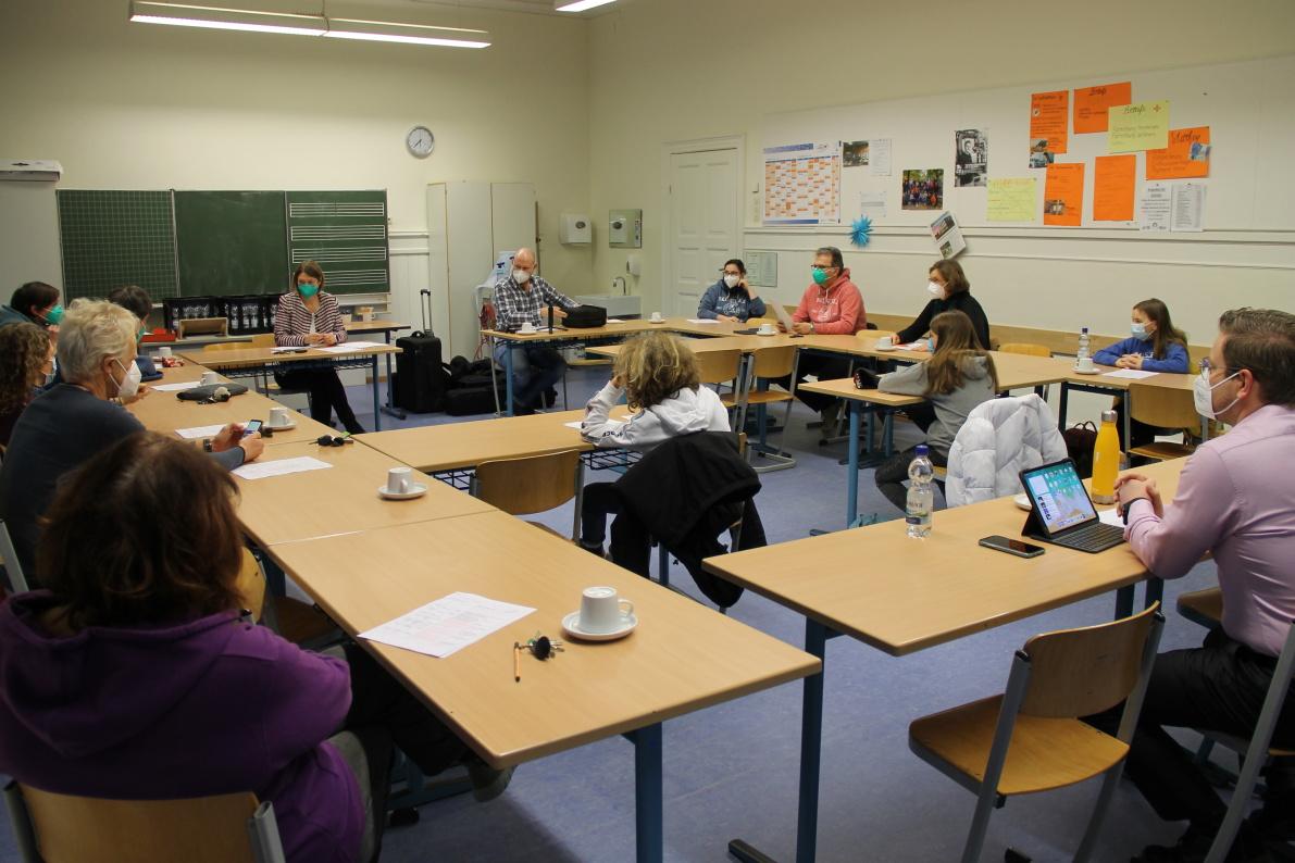 Wahlpflichtfaches ab Klasse 7 und Wahlfach Französisch in Klasse 6