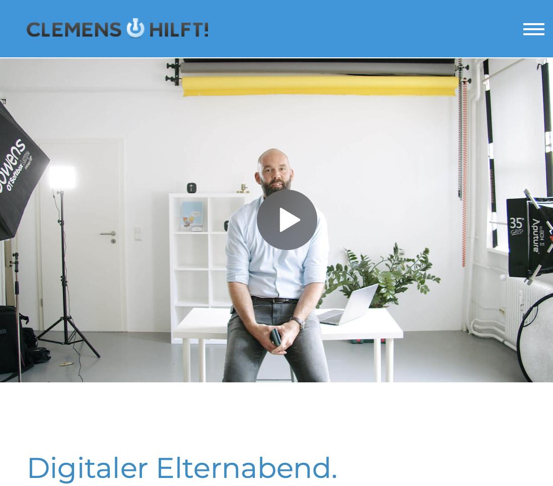 """Digitaler Elternabend zum Thema """"Mediennutzung für Kinder und Jugendliche"""""""